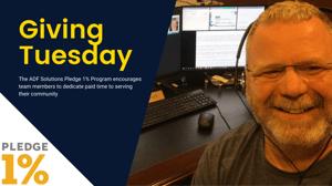 #GivingTuesday - ADF Solutions Rich Frawley