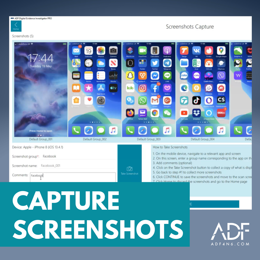 ADF Capture Screenshots - Mobile Forensics IG