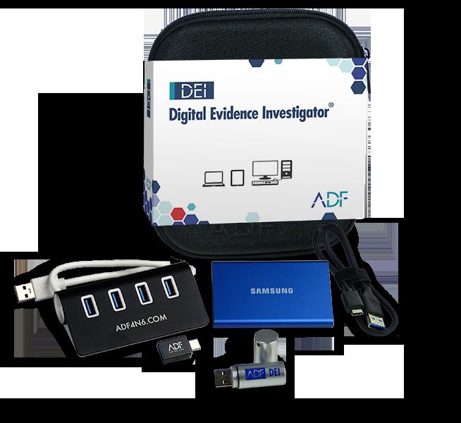 ADF Digital Evidence Investigator Kit