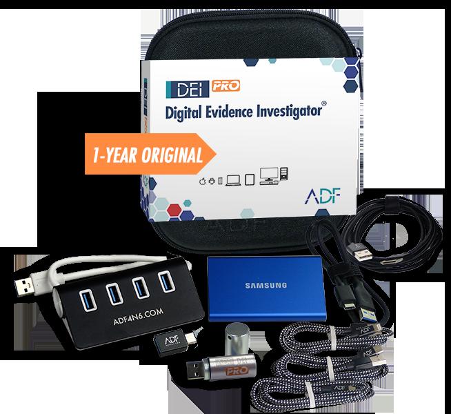 ADF Digital Evidence Investigator PRO Kit 1 Year