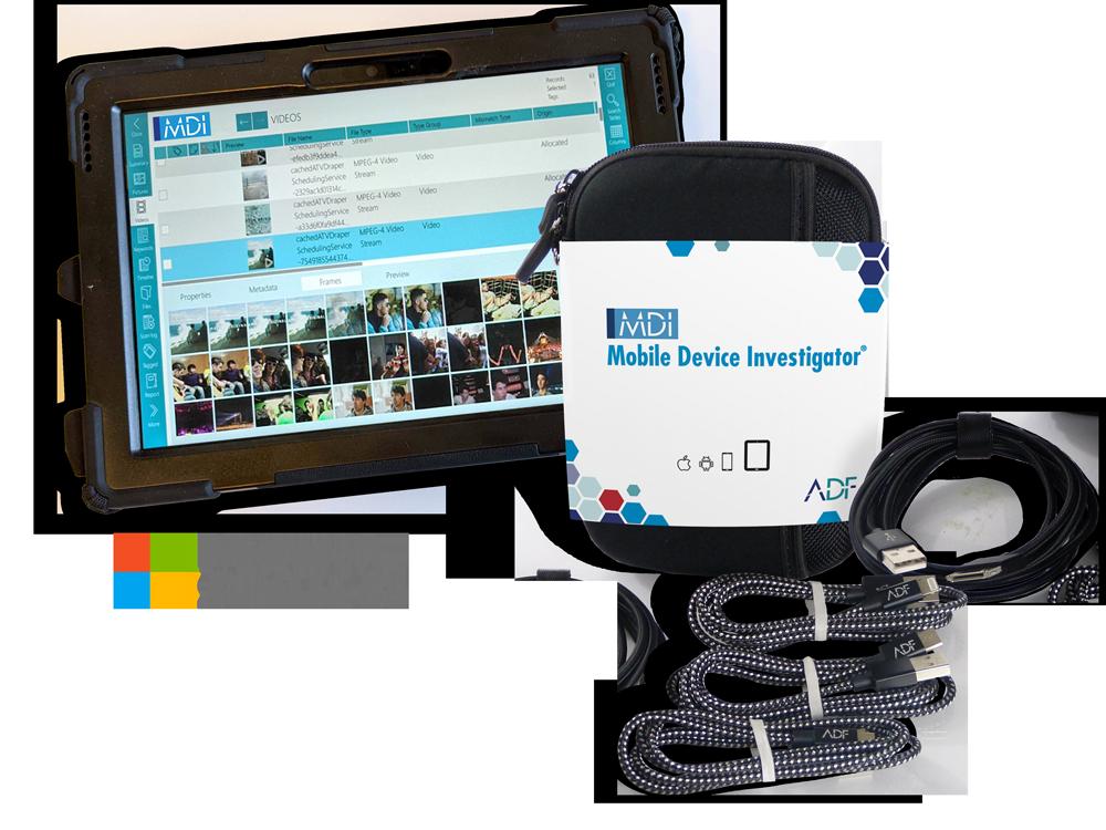 Mobile Device Investigator Field Tablet Microsoft Surface Go