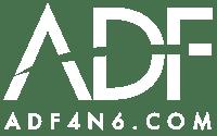 ADF4N6 Logo - white