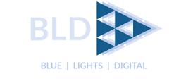 Blue Lights Digital logo