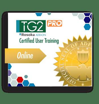 Certified-User Training-TG2-PRO