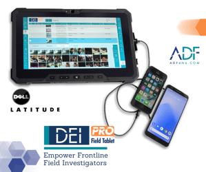 DEI PRO Field Tablet from ADF Solutions - Dell Latitude FB