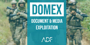 DOMEX Document and Media Exploitation - ADF Solutions