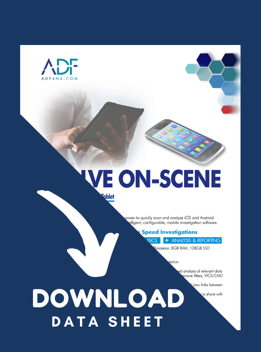 MDI Field Tablet Data Sheet - Download Now