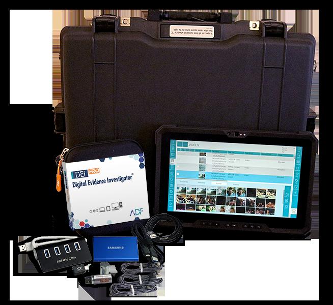 Digital Evidence Investigator - DEI PRO Field Tablet - Dell Latitude