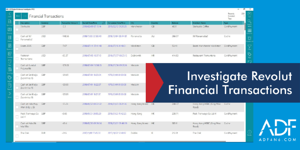 Investigate Revolut Financial Transactions