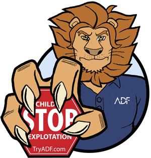 LEO the ADF Solutions Mascot x300