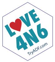 Love4N6 Sticker - Techno