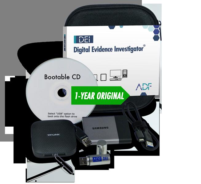 Digital Evidence Investigator 1 Year Forensic Kit