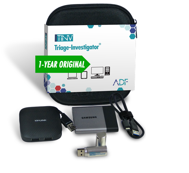 Triage Investigator Digital Forensic Software Kit