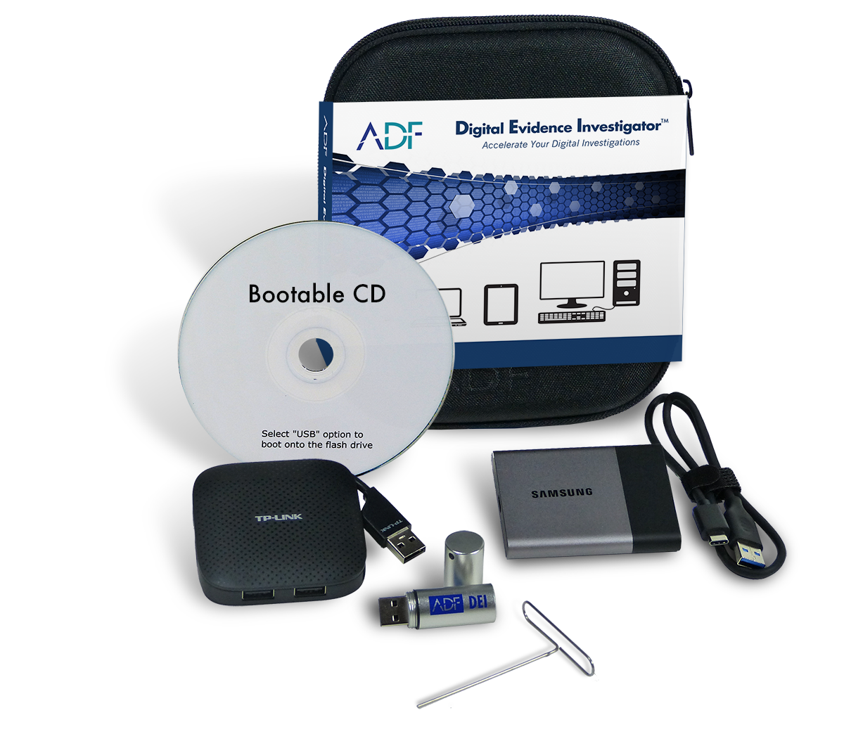 ADF Digital Evidence Investigator Kit DEI
