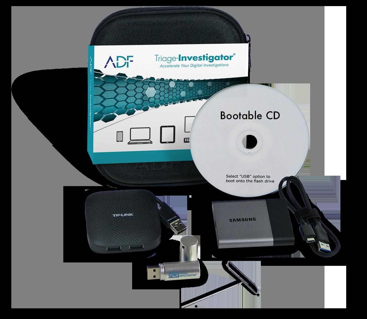 ADF Triage-Investigator Kit TINV