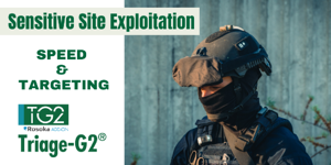 Sensitive Site Exploitation_ Speed and Targeting