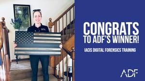 Congrats to ADFs IACIS Winner