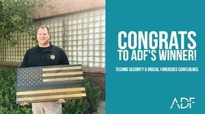 Congrats to ADFs Techno Security 2018 Winner