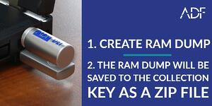 Create RAM Dump with ADF Digital Evidence Investigator - Forensics
