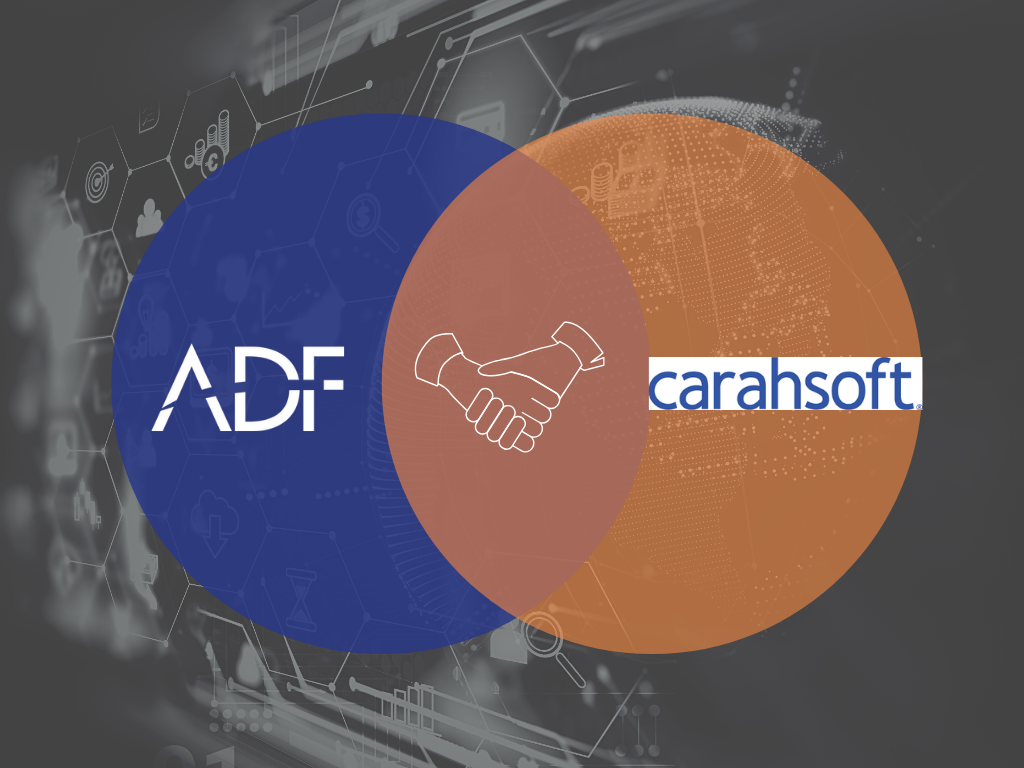 ADF Solutions Partners with Carahsoft Technology