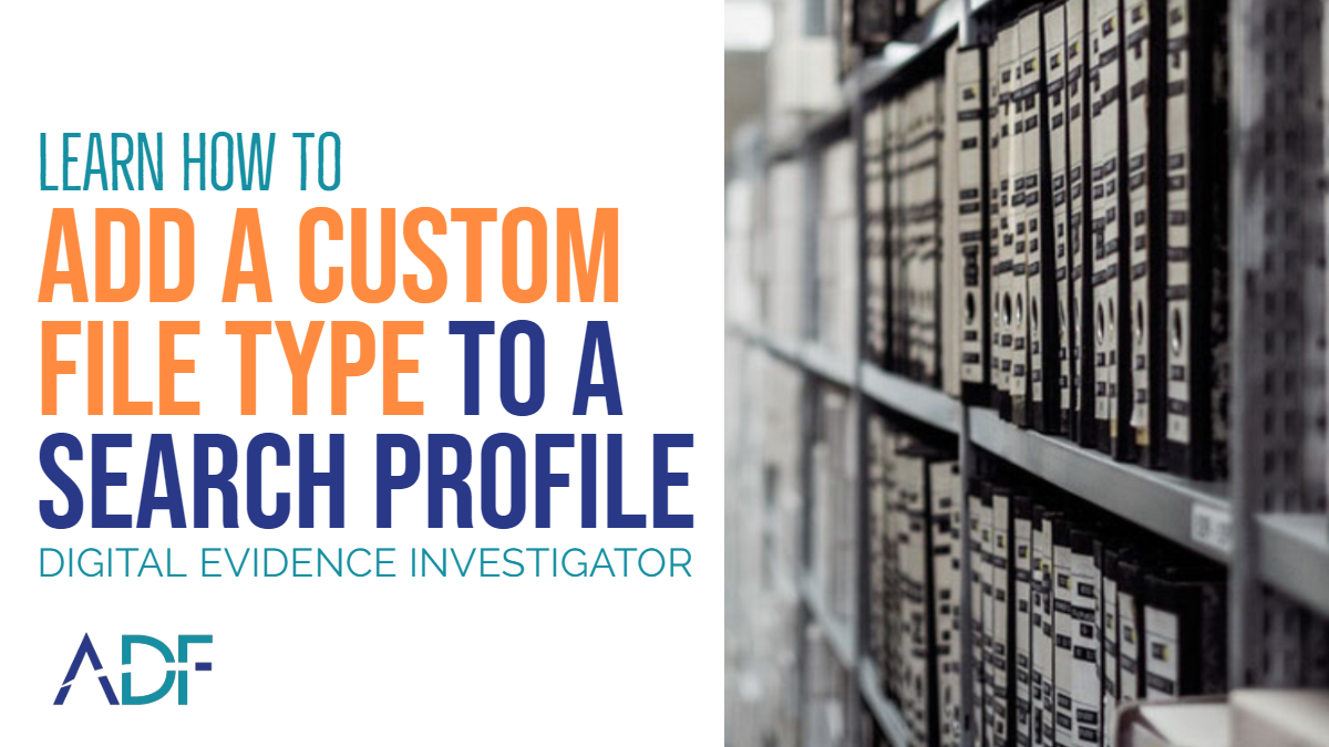 How to Add a Custom File Type to an ADF Search Profile