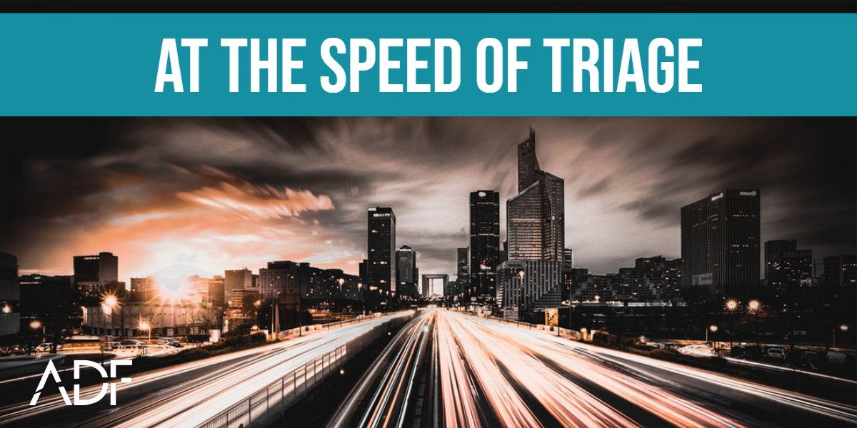 How fast is digital forensic triage?