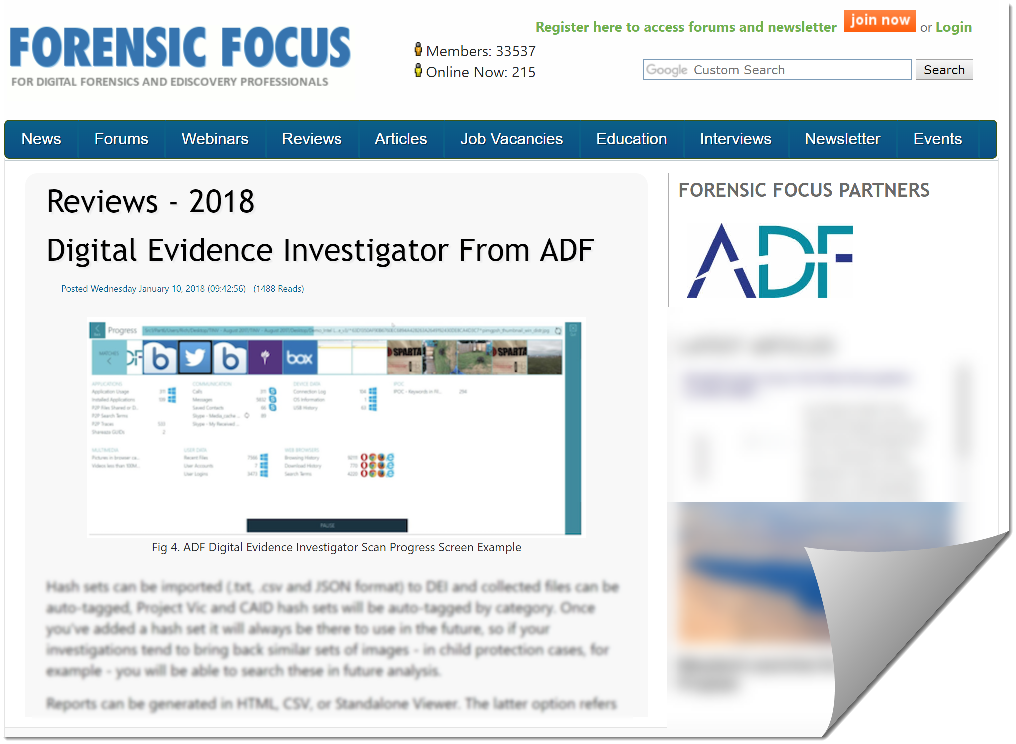 Forensic Focus Reviews Digital Evidence Investigator