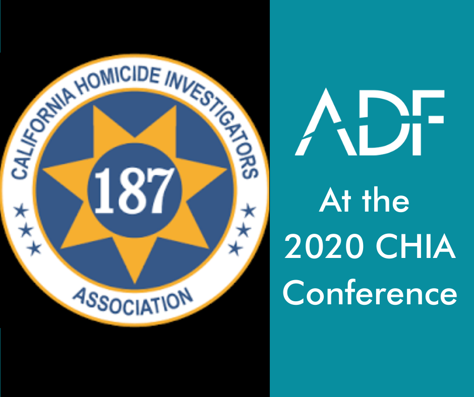 Digital Forensics at the California Homicide Investigation Conference