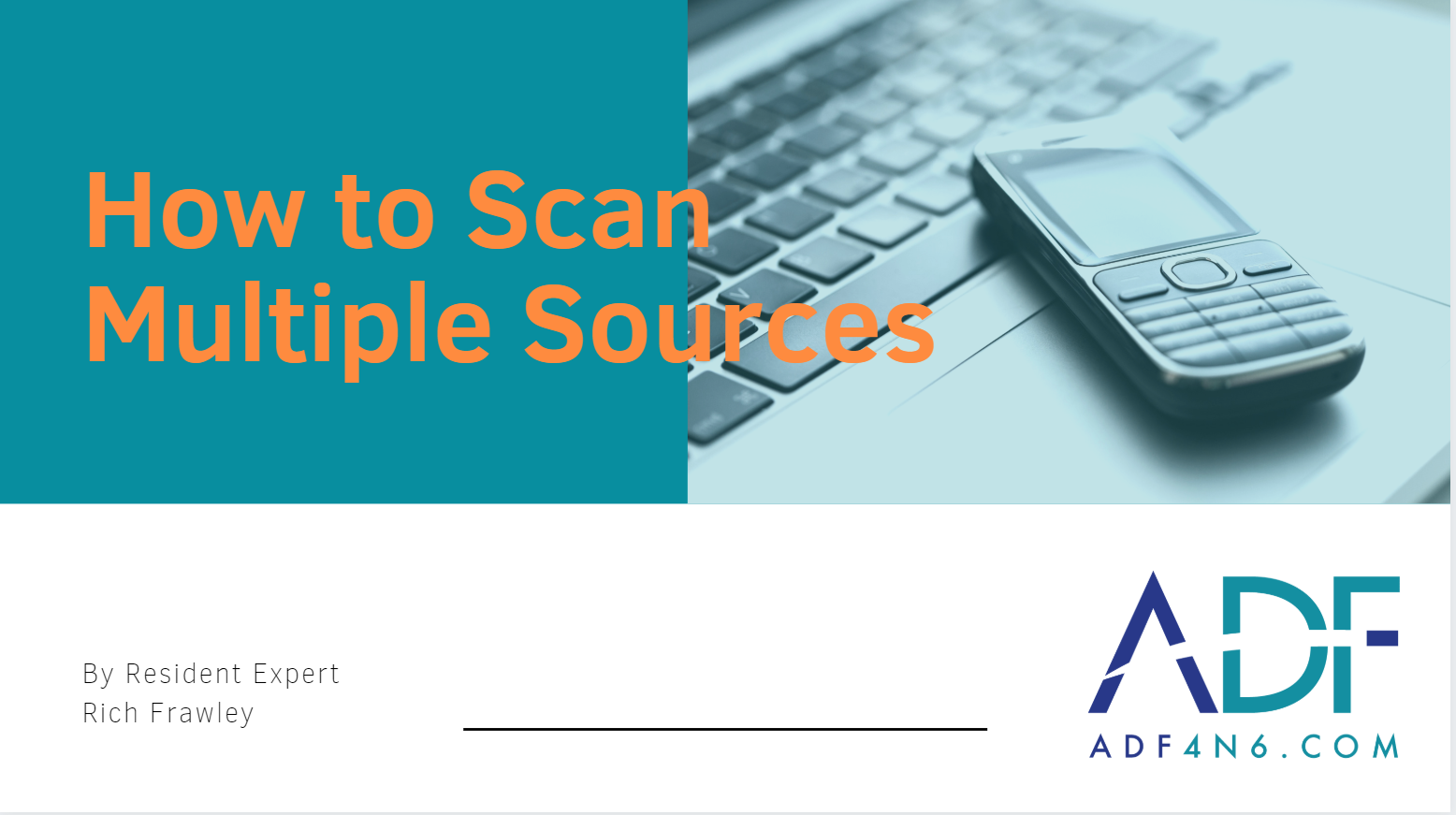 How to Scan Multiple Devices