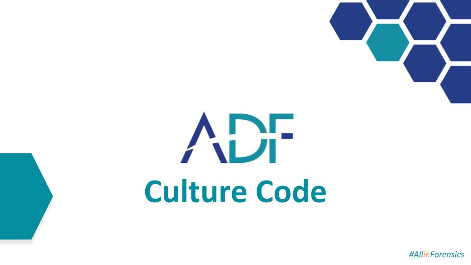 ADF Introduces the Culture Code