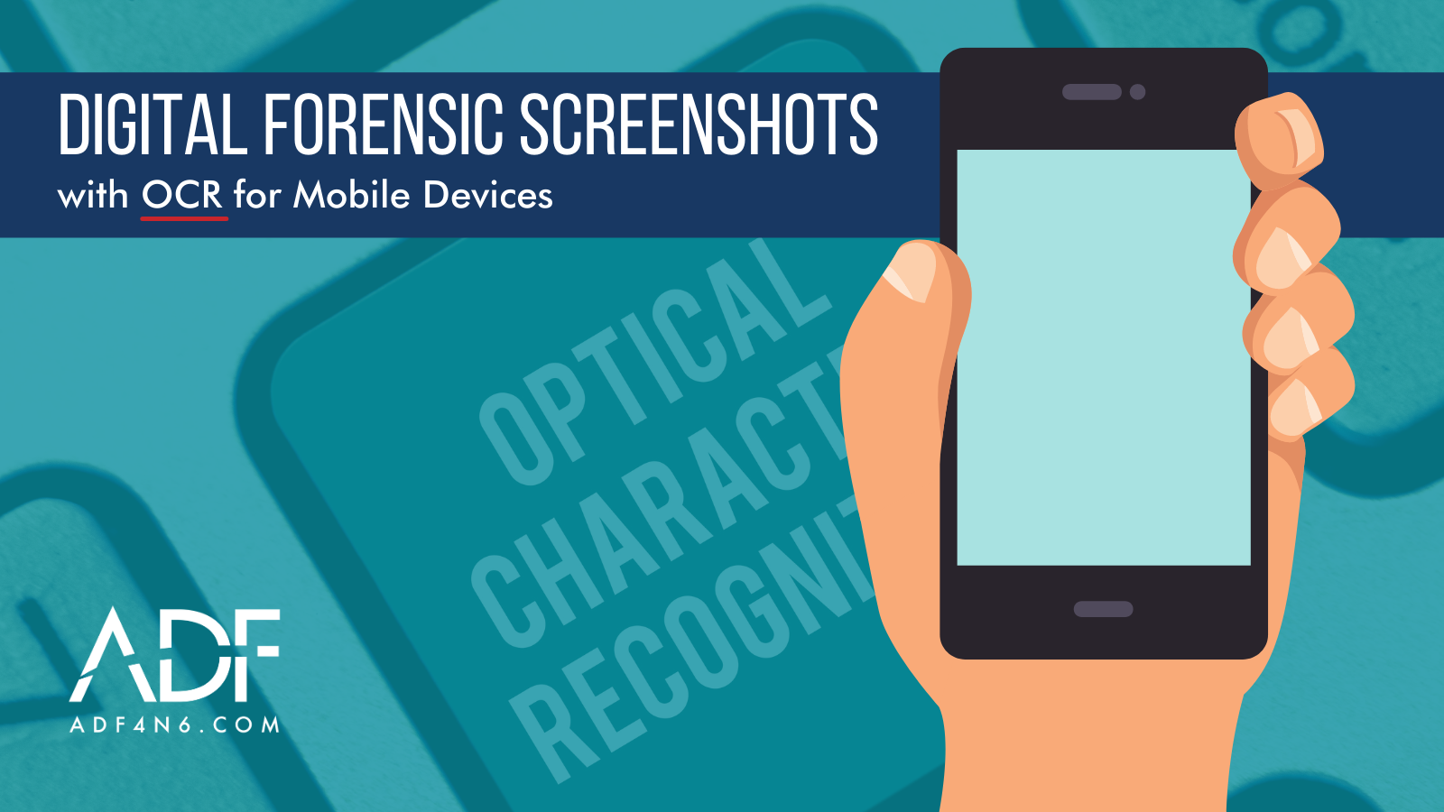 Digital Forensic Screenshots with OCR for Mobile Devices