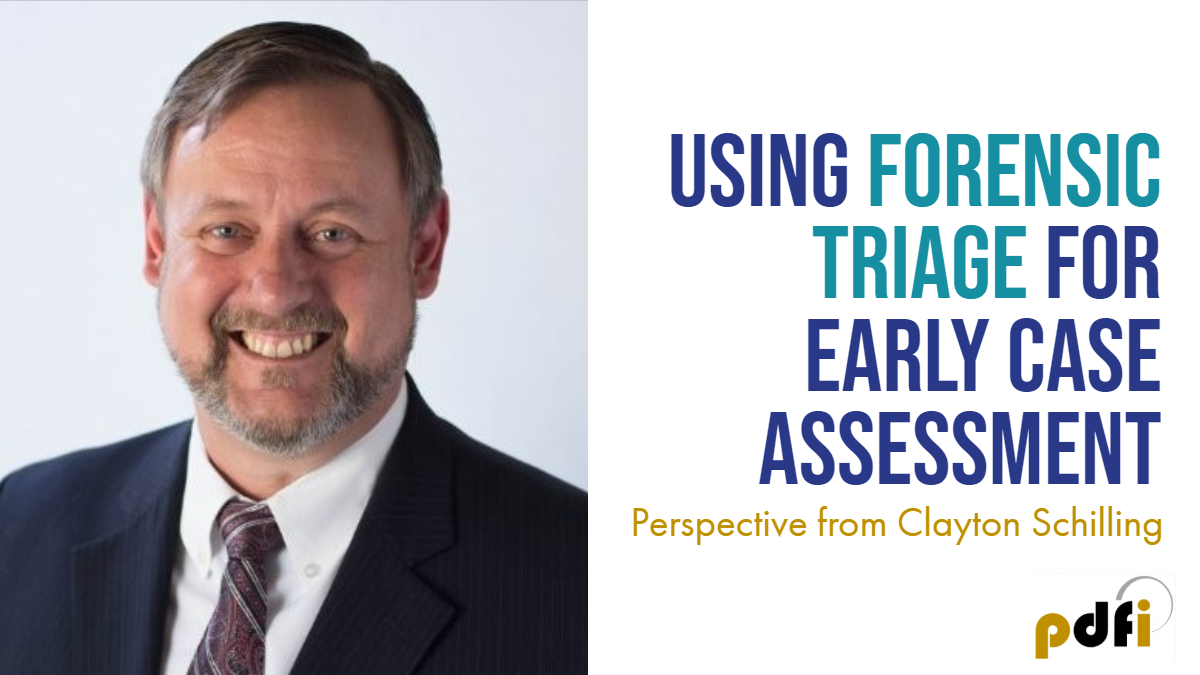 Using Forensic Triage for Early Case Assessments