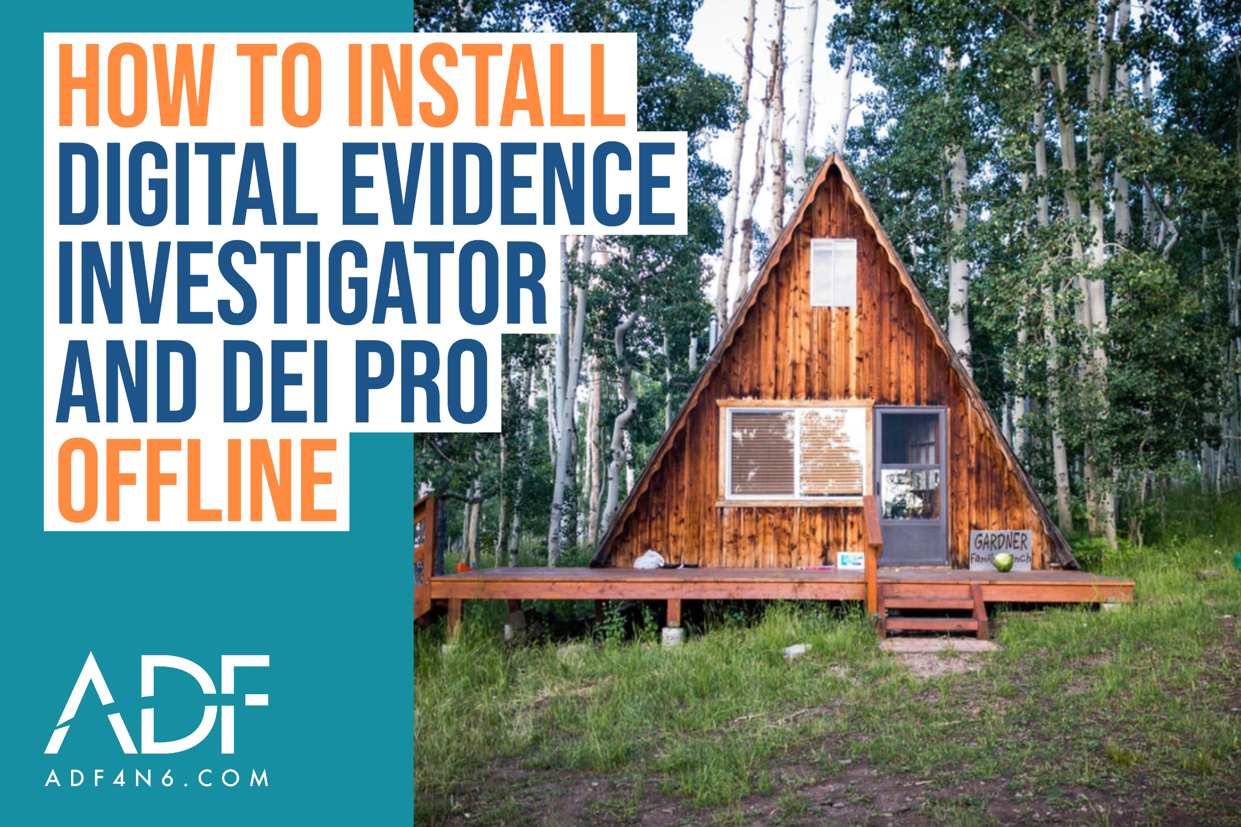 How to Install Digital Evidence Investigator and DEI PRO Offline
