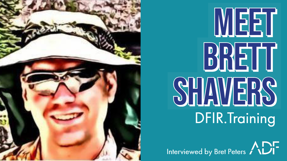 Meet Brett Shavers, DFIR Training Manager