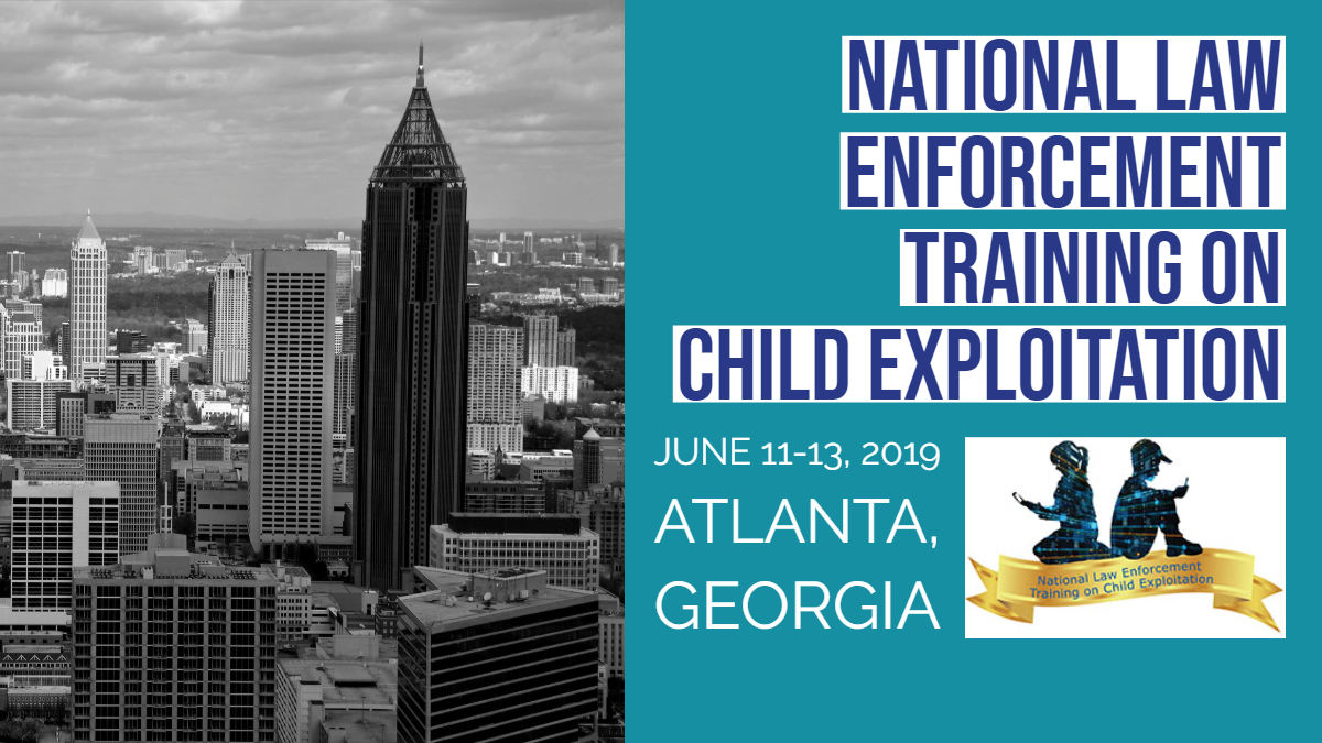 2019 NLETC ICAC Training Announced in Georgia