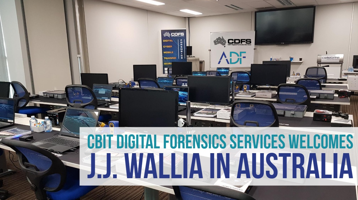 J.J. Wallia to Present at CBIT Digital Forensics Services in Australia