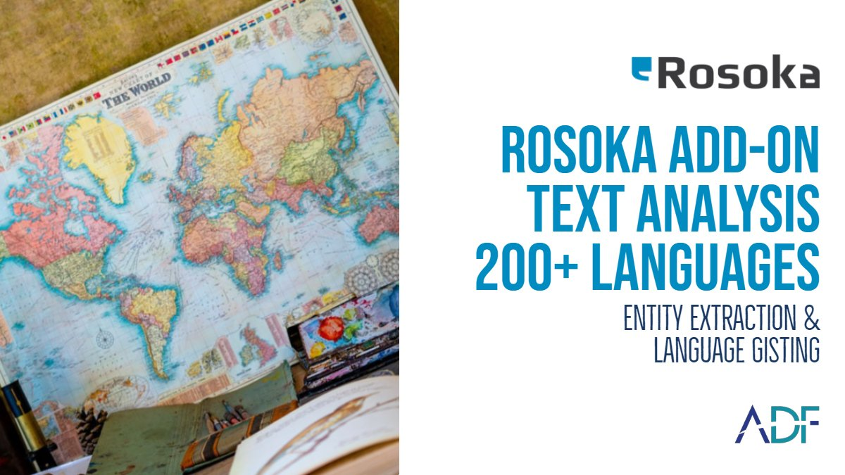 Rosoka Add-on Powerful Text Analytics