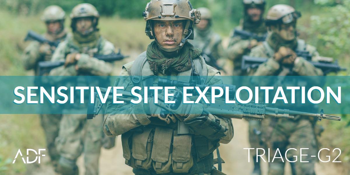 What is Sensitive Site Exploitation?