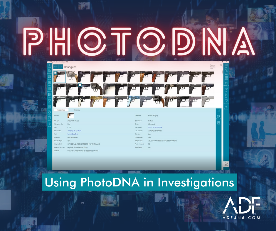Using PhotoDNA in Digital Forensics Investigations